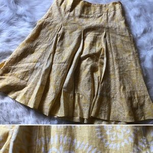 🔥4/$20🔥LOFT Petites Linen Skirt